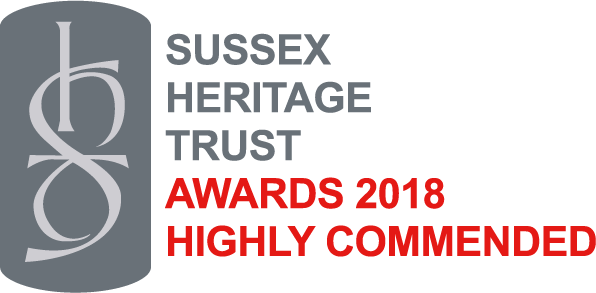 Sussex Heritage Trust Highly Commended 2018 Logo